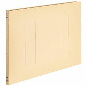 OSFE-B4E-Y フラットファイルエコノミー B4ヨコ 背幅18mm イエロー 10冊パック 汎用品