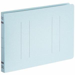 OSFE-A5E-B フラットファイルエコノミー A5ヨコ 背幅18mm ブルー 10冊パック 汎用品