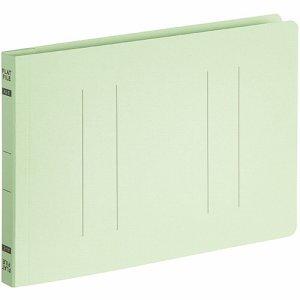 OSFE-A5E-G フラットファイルエコノミー A5ヨコ 背幅18mm グリーン 10冊パック 汎用品
