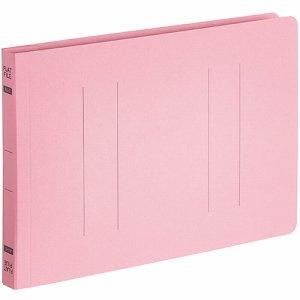 OSFE-A5E-P フラットファイルエコノミー A5ヨコ 背幅18mm ピンク 10冊パック 汎用品