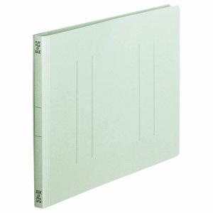 OSST-A4EB フラットファイル A4ヨコ 背幅18mm 青 1セット100冊 汎用品