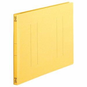 OSST-A4EY フラットファイル A4ヨコ 背幅18mm 黄 1セット100冊 汎用品