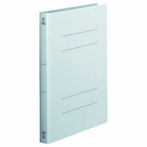 OSW-A4SB フラットファイル(厚とじW) A4タテ 背幅28mm 青 1セット100冊 汎用品