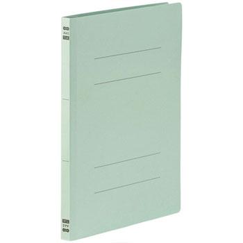86-046 フラットファイル PPラミネート表紙タイプ A4タテ 背幅17.5mm ブルー 10冊パック 汎用品
