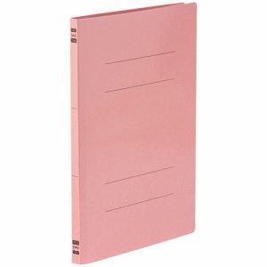 86-048 フラットファイル PPラミネート表紙タイプ A4タテ 背幅17.5mm ピンク 10冊パック 汎用品