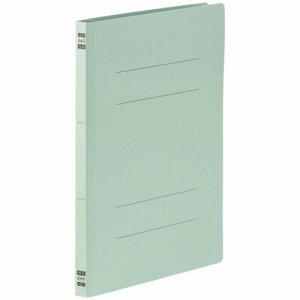 86-046 フラットファイル PPラミネート表紙タイプ A4タテ 背幅17.5mm ブルー 1セット30冊 汎用品