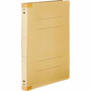 OSSHW-A4SY 背補強フラットファイル 厚とじ A4タテ 背幅28mm イエロー 10冊パック 汎用品