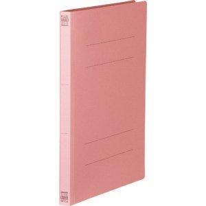 PLUS No.031Nピンク フラットファイル 樹脂とじ具 B5タテ 150枚収容 背幅18mm ピンク