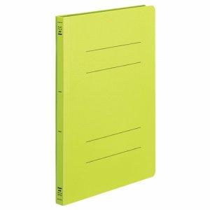 コクヨ フ-H10YG フラットファイル(PP) A4タテ 150枚収容 背幅20mm 黄緑 10冊セット
