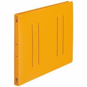 コクヨ フ-H15YR フラットファイル(PP) A4ヨコ 150枚収容 背幅20mm オレンジ 10冊セット