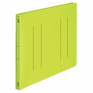 コクヨ フ-H19YG フラットファイル(PP) B4ヨコ 150枚収容 背幅20mm 黄緑 10冊セット