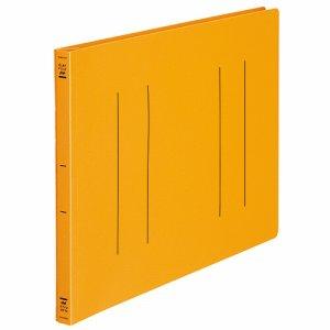 コクヨ フ-H19YR フラットファイル(PP) B4ヨコ 150枚収容 背幅20mm オレンジ 10冊セット