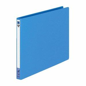 コクヨ フ-555B レターファイル(色厚板紙) A4ヨコ 120枚収容 背幅20mm 青