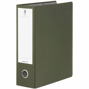 コクヨ フ-NE680DG チューブファイル(NEOS) A4タテ 800枚収容 80mmトジ 背幅95mm オリーブグリーン