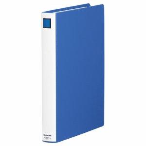 KINGJIM 2472AB キングファイルスーパードッチ <脱・着>イージー A4タテ型 とじ厚20mm 青