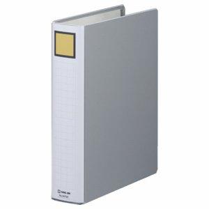 KINGJIM 2475Aクレ スーパードッチファイルイージー A4タテ 50mmトジ 背幅66mm グレー 10冊セット