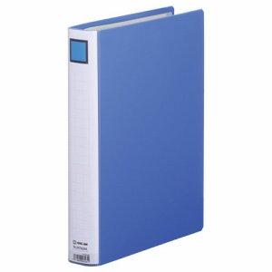 KINGJIM 2473GXAアオ スーパードッチファイルイージー GXシリーズ A4タテ 30mmトジ 背幅46mm 青