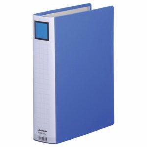 KINGJIM 2475GXAアオ スーパードッチファイルイージー GXシリーズ A4タテ 50mmトジ 背幅66mm 青