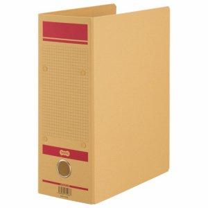 HFNA4S-10R 保存用ファイルN片開き A4タテ 赤 汎用品