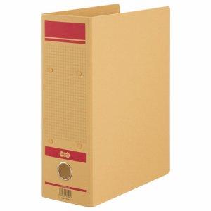 HFNA4S-8R 保存用ファイルN片開き A4タテ赤 1セット12冊 汎用品