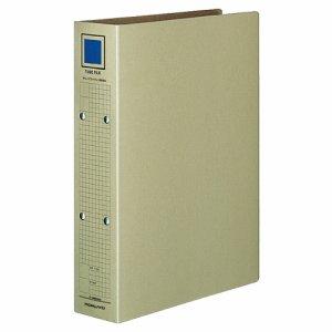 コクヨ フ-VM650M チューブファイル(保存用) 片開キ A4タテ 2穴 500枚収容 50mmトジ 背幅67mm グレー