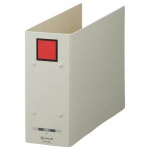 KINGJIM 4088アカ 保存ファイル ドッチ A4ヨコ 800枚収容 80mmトジ 背幅94mm ピクト赤 4088