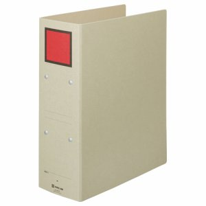 KINGJIM 4378 保存ファイル A4タテ 800枚収容 80mmトジ 背幅94mm ピクト赤