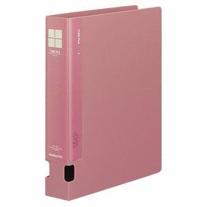 コクヨ フ-F640NP チューブファイルPP 片開キ A4タテ 400枚収容 40mmトジ 背幅55mm ピンク