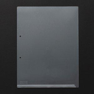 KINGJIM 780-100 キングホルダーポケット マチナシ A4タテ 乳白