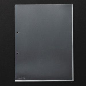 KINGJIM 781-100 キングホルダーポケット マチ付 A4タテ 乳白