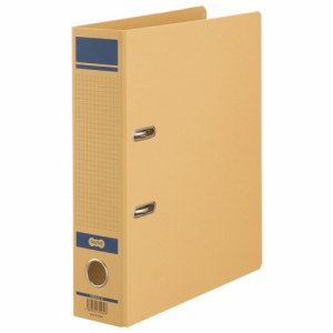 HRNA4S-B 保存用レバー式アーチファイルN A4タテ 背幅77mm 青 汎用品