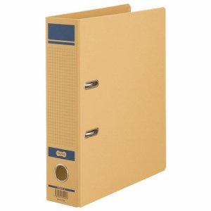 HRNA4S-B 保存用レバー式アーチファイルN A4タテ 背幅77mm 青 1セット12冊 汎用品