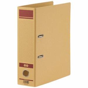 HRNA4SQ-R 保存用レバー式アーチファイルN A4タテ 背幅83mm 赤 1セット12冊 汎用品