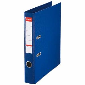 ESSELTE 48075 レバーアーチファイル A4タテ 350枚収容 背幅52mm ブルー