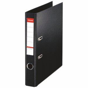 ESSELTE 48077 レバーアーチファイル A4タテ 350枚収容 背幅52mm ブラック