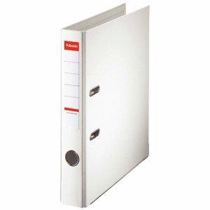 ESSELTE 20009 レバーアーチファイル A4タテ 350枚収容 背幅52mm ホワイト