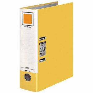 コクヨ フ-AL290NY レバッチファイル A4タテ 2穴 480枚収容 背幅76mm 黄