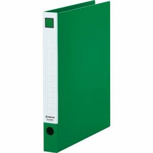 KINGJIM 6672ミト レバーリングファイル A4タテ 2穴 250枚収容 背幅33mm 緑