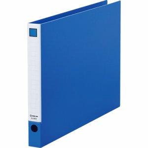 KINGJIM 6602アオ レバーリングファイル A3ヨコ 2穴 250枚収容 背幅33mm 青