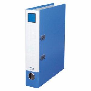 KINGJIM 3774GXアオ レバーリングファイルGX Dタイプ A4タテ 2穴 400枚収容 背幅63mm 青