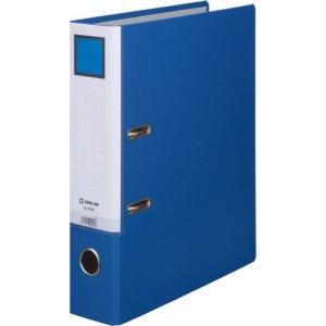 KINGJIM 3595アオ レバー式アーチファイル A4タテ 2穴 500枚収容 背幅70mm 青