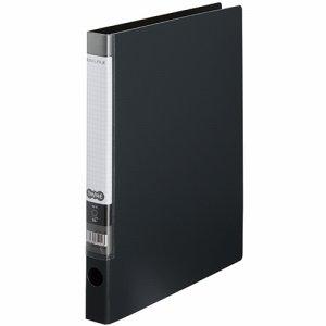 CRFSA4S-DM Oリングファイル A4タテ 2穴 背幅32mm ダークグレー 汎用品