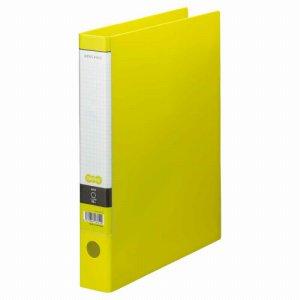 CRFWA4S-LG Oリングファイル A4タテ 2穴 背幅44mm ライトグリーン 10冊セット 汎用品