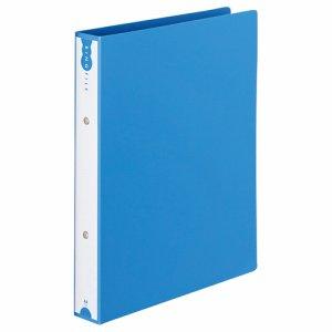 TRFW-A4-B PP表紙リングファイル A4タテ 2穴 背幅43mm ブルー 汎用品