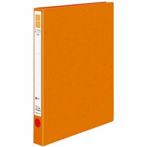 コクヨ フ-UR420NYR リングファイル(ER・PP表紙) A4タテ 2穴 170枚収容 背幅29mm オレンジ