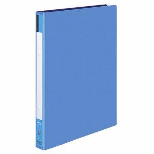 コクヨ フ-420B リングファイル(色厚板紙表紙) A4タテ 2穴 170枚収容 背幅30mm 青