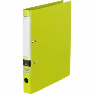CDFA4S-LG Dリングファイル A4タテ 2穴 背幅37mm ライトグリーン 10冊セット 汎用品