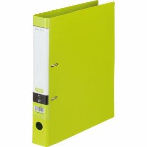 CDFWA4S-LG Dリングファイル A4タテ 2穴 背幅45mm ライトグリーン 汎用品
