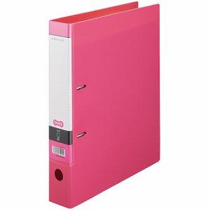 CDFXA4S-P Dリングファイル A4タテ 2穴 背幅53mm ピンク 汎用品