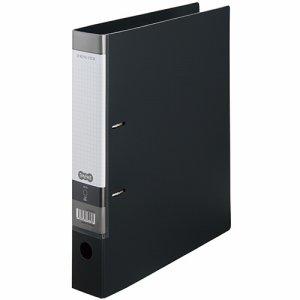 CDFXA4S-DM Dリングファイル A4タテ 2穴 背幅53mm ダークグレー 10冊セット 汎用品